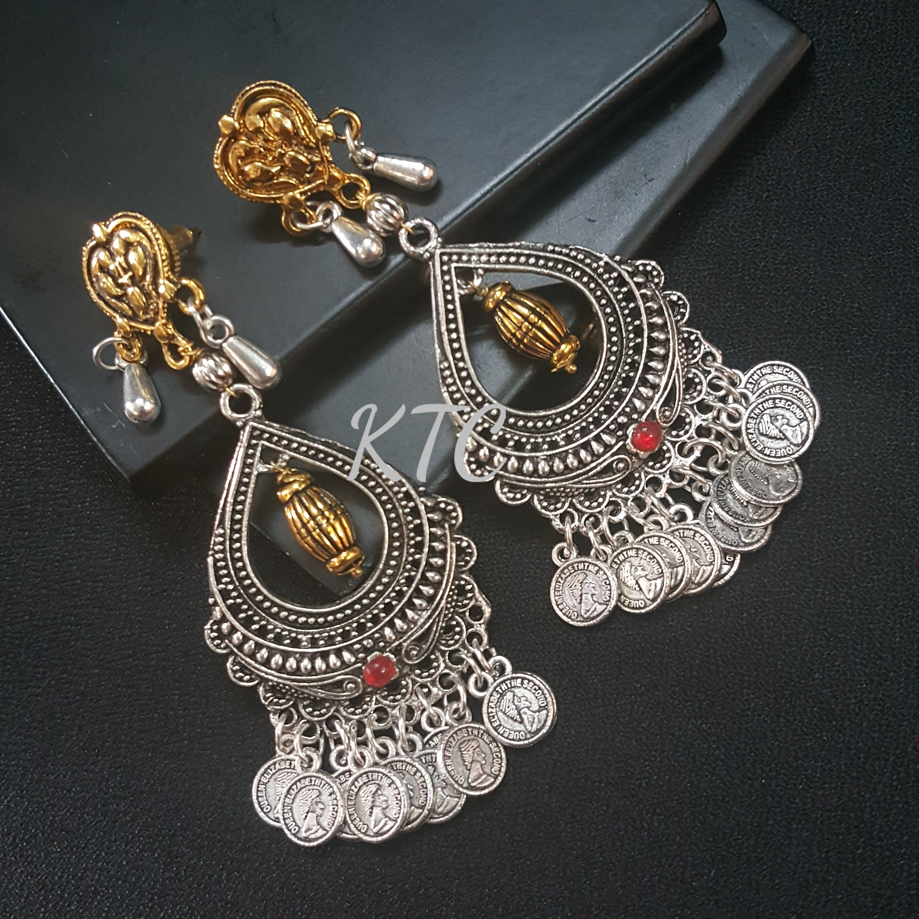 Designer German Silver Earing