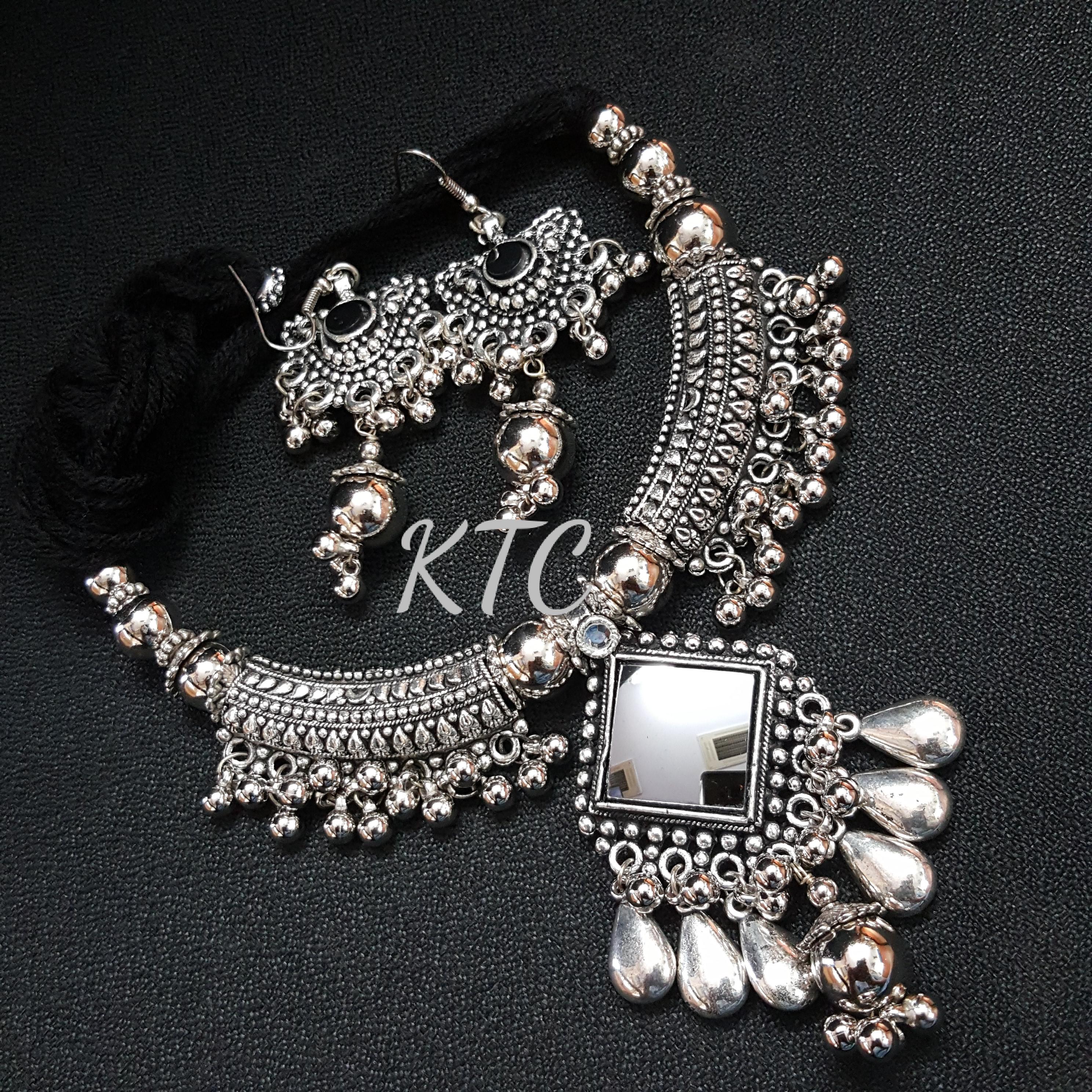 Mirror Silver Set