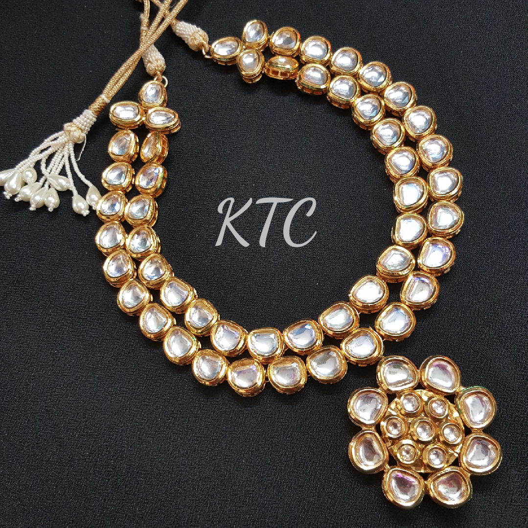 Two Layer Kundan Necklace