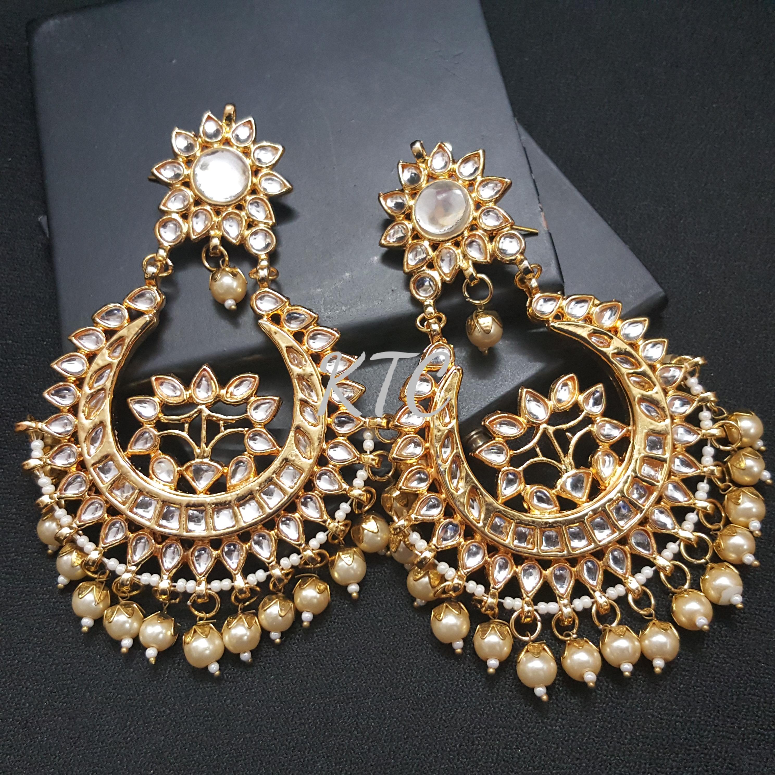 Kundan Royal Chandbali